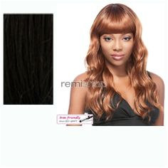 It's a Wig Addison  - Color 1B - Synthetic (Curling Iron Safe) Regular Wig