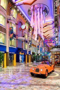 Liberty of the Seas Royal Promenade - Photo Courtesy of Royal Caribbean International