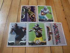 2013 Topps RC Lot of (5) Kenny Vaccaro Gavin Escobar John Jenkins Markus Wheaton