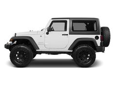 2 Door White Jeep Wrangler #jeep #jeepwrangler