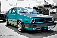 (2) VW Golf mk2 GTI