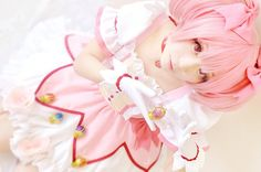 Find images and videos about cute, pink and anime on We Heart It - the app to get lost in what you love. Kawaii Cosplay, Anime Cosplay, Boy Images, Kawaii Anime, Harajuku, Tulle, Poses, Awesome, Pink