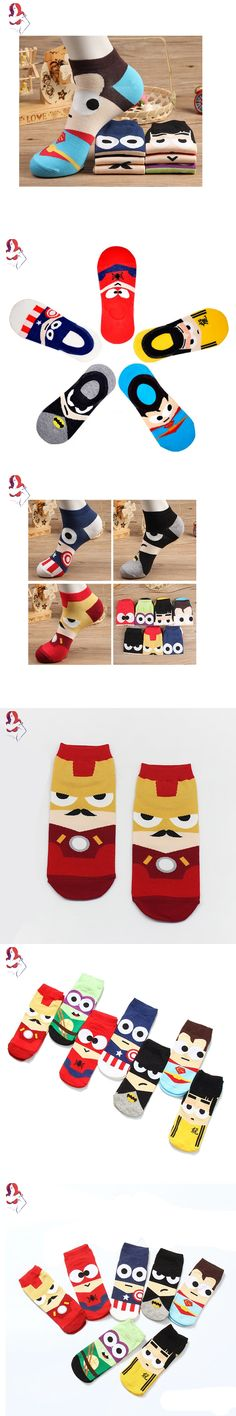 UCHIHA LQ Cheap Male Socks Funny Cartoon Big Eyes Hero 1Pair/lot High Quality Socks Cute Cycling Compression Stocking