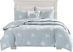 Seaside 4-Piece Queen Coverlet Set by Harbor House