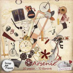 Kit Arsenic de 100Drine - €2.00 : Boutique ScrapFromFrance