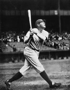 Babe Ruth. The Sultan of Swat was born in Baltimore, Md., on Feb. 6, 1895. He went on to hit 714 home runs, win seven World Series, and become the widely considered greatest baseball player of all time.