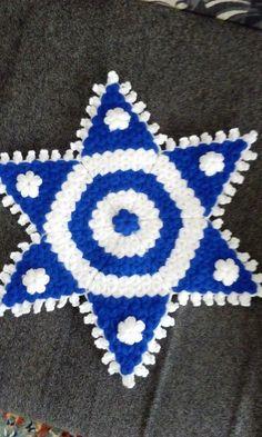 Krishna Art, Projects To Try, Crochet Patterns, Blanket, Crafts, Nutella, Crochet Flowers, Crochet Carpet, Amigurumi
