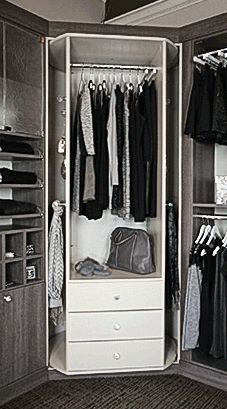 Closet Works Offers The 360 Organizer By Lazy Lee Valet Model, 360 Valet, Rotating  Closet System, Which Includes Drawers, Hanging Space And Shoe Shelves All  ...