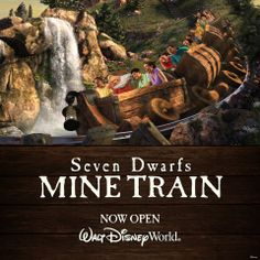 "Grab your lantern and your map, and hold on tight…it's time to ride into the mine ""where a million diamonds shine"" on the Seven Dwarfs Mine Train – now front and center in New Fantasyland at Magic Kingdom Park!"