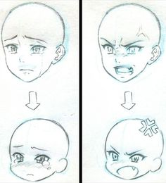 Manga Drawing Tips Anime vs Chibi reference Mehr - Drawing Techniques, Drawing Tips, Drawing Sketches, Art Drawings, Chibi Drawing, Drawing Ideas, Anime Drawing Tutorials, Chibi Sketch, Sketching