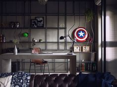 Avengers-Themed Apartment (Where the Avengers Assemble in Stark Tower?)