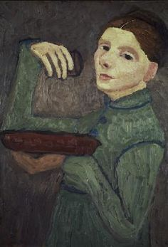 :: Paula Modersohn-Becker, 'Self Portrait', 1904  [#08]