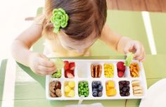 Such a cute idea for my little cousins Kennedi and Gavin!! I would prob. put grapes,blueberries,pretzels,carrots,peas,  apple slices,orange slices,strawberries,and many cute other things!!