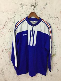 """Details about Mens Originals 90s vintage Adidas shell suit jacket Ch 42 44"""" Funky New Year"""