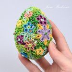 quilled 3d easter egg