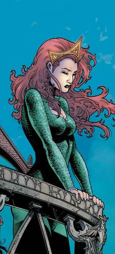 Mera (Pre-Flashpoint) by Vicente Cifuentes