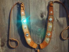 custom pulling style breast collar by Rockin B's
