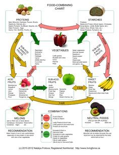 Food combining is not a new idea in the nutrition field. The Hay Diet, is a plan where you separate your food into groups - acidic, alkaline and neutral. Food Combining Rules, Hay Diet, Raw Food Recipes, Healthy Recipes, Food Tips, Healthy Foods, Healthy Holistic Living, Clean Eating, Healthy Eating