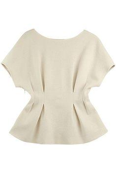 Shop Pleated Waist Raglan Sleeves White Blouse at ROMWE, discover more fashion styles online. Blouse Styles, Blouse Designs, Blouses For Women, Cheap Blouses, Shirt Blouses, Satin Blouses, African Fashion, Plus Size Fashion, Ideias Fashion