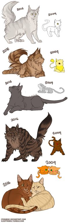 warrior cats | Tumblr | Looks like someone had some great art improvement