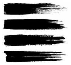 Black paint lines brush strokes Premium ... | Premium Vector #Freepik #vector #abstract #line #paint #brush Paint Strokes, Brush Strokes, Brush Stroke Tattoo, Black Clover Manga, Distressed Texture, Trash Polka, Paint Line, Painting Tattoo, Fashion Sketchbook