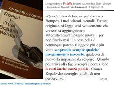 Recensioni ai libri di Giancarlo Fornei: su Amazon...