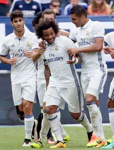Marcelo shone in a super first half display
