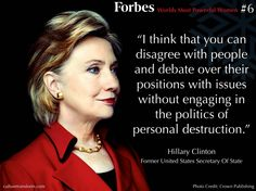 Forbes Worlds Most Powerful Women #6 - Hillary Clinton