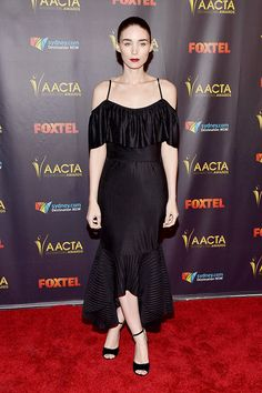 Rooney Mara attends the 5th AACTA International Awards at Avalon Hollywood on January 29, 2016 in Los Angeles, United States.