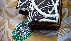Starbucks mint chocolate brownie