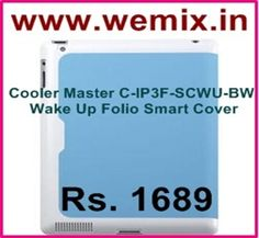 Cooler Master C-IP3F-SCWU-BW Wake Up Folio Smart Cover Rs. 1689