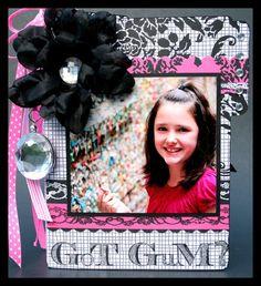 "TERESA COLLINS DESIGN TEAM: Teresa Collins Designs - POSH, Mini Album - ""Got GUM?"""