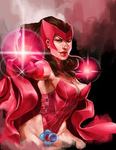 Avengers: The Scarlet Witch by dr-conz.deviantar... on @DeviantArt - More at pinterest.com/... #marvel #marvelcomics #scarletwitch #fanart