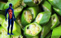 Okra, known as ladies' fingers or bamia, is a wonderful vegetable. It is perfect if you want to heal your body through diet. Here we pres. Diabetic Snacks, What Happened To You, Okra, Health Tips, Health Blogs, Superfoods, Cucumber, Zucchini, Benefit