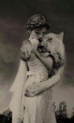 Embrace the lion