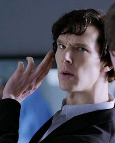 Is it weird that I can tell you exactly which episode this is and who is talking to and what his exact words were right before and after this? Sherlock Holmes 3, Sherlock Fandom, Sherlock Quotes, Sherlock John, Jim Moriarty, Benedict Sherlock, Sherlock Holmes Benedict Cumberbatch, John Watson, Johnlock