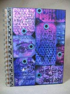 Let Annette Green show you how to make this AMAZING Dylusions Altered Sketchbook!