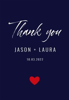 Thank You - Wedding Thank You Card #greetingcards #printable #diy #wedding #thankyou Free Thank You Cards, Thank You Card Template, Wedding Thank You Cards, Printable Cards, Text Messages, Your Cards, Diy Wedding, Create Yourself, Greeting Cards