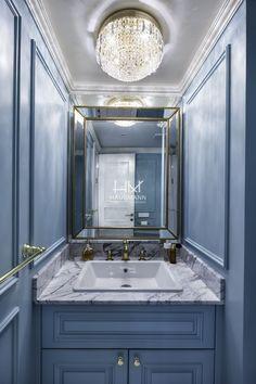 Powder Room, Double Vanity, Bathroom Lighting, Toilet, Mirror, Frame, House, Furniture, Home Decor