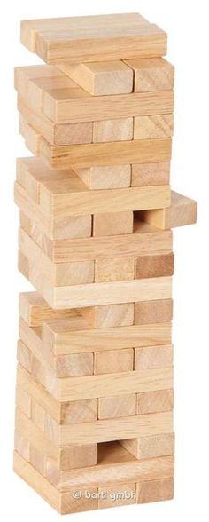Bartl, Stapelturm aus Holz, 60 Teile 103756