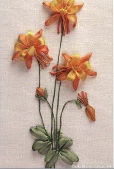 DIY物语——美轮美奂的丝带绣欣赏