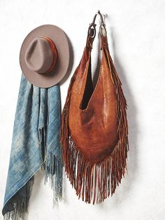 And Cake Willow Fringe Hobo at Free People Clothing Boutique
