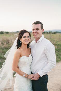 Wedding Portrait. Farm.