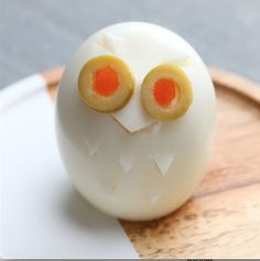 Eule | Diese gekochten Eier in Tierform sind ja wohl der süßeste Snack überhaupt