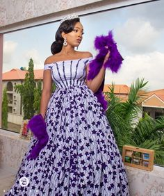 """Today we bring to you Foxy Ankara Styles."""" These Ankara styles are quite awesome, and it's designs are amazing. We believe that you would all be amazed on seeing these foxy ankara styles for Check them out and have a wonderful week ahead. Latest Ankara Dresses, Ankara Short Gown Styles, Trendy Ankara Styles, Ankara Gowns, Latest African Fashion Dresses, African Print Fashion, Ankara Fashion, Africa Fashion, Dress Fashion"""