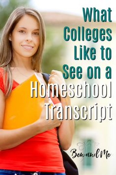 What Colleges Like to See on a Homeschool Transcript