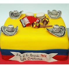 Torta fiesta colombiana