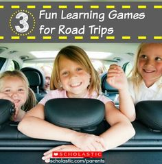 Sneak some learning into your next road trip with these tips! Click for details.