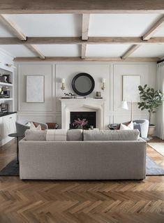Formal Living Room : One Room Challenge – Room Reveal – Interior 2020 Formal Living Rooms, My Living Room, Home And Living, Living Room Decor, Living Spaces, Small Living, Modern Living, Nordic Living, Barn Living