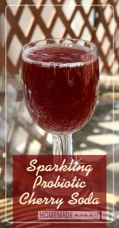 Sparking Probiotic Cherry Soda – Basic Health Tips Probiotic Drinks, Best Probiotic, Kombucha, Yummy Drinks, Healthy Drinks, Stay Healthy, Healthy Food, Real Food Recipes, Healthy Recipes